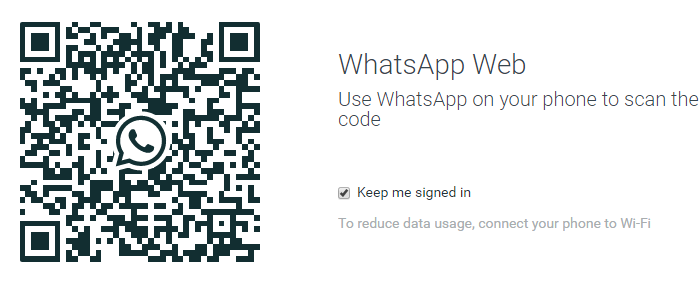 this is how the whatsapp web qr code looks like