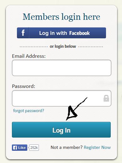 "Click ""Log In"""