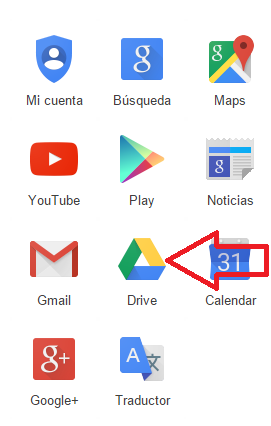 Google Drive icon in Gmail