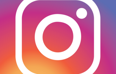 instagram logo image for report and recover hacked account post