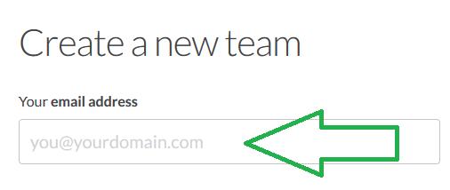 slack email address field create new team image