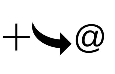 plus sign technique logo